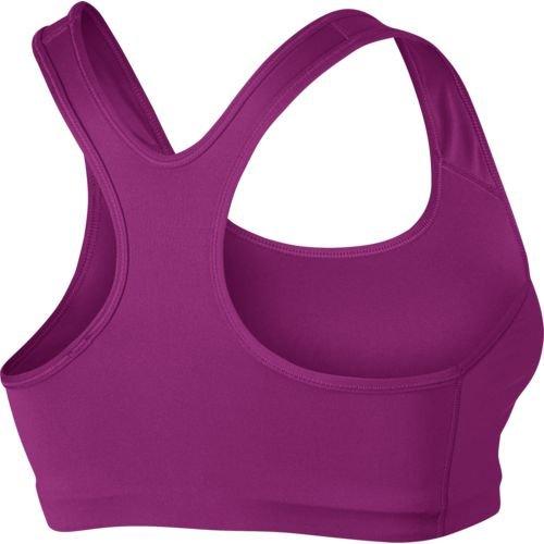 Nike Womens Dri-Fit Racerback Sports Bra Purple S
