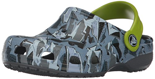 crocs Kids' Classic Graphic K Clog,Camo,6 M US ()