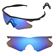 Walleva Replacement Lenses or Lenses With Rubbers for Oakley M Frame Heater - Multiple Options