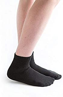 product image for Doc Ortho Loose Fit Diabetic Socks, 12 Pairs, 1/4 Crew