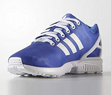 new concept 101b2 691aa Adidas Womens Zx Flux Shoes Royal Blue White: Amazon.com