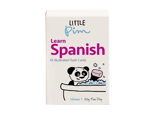 (Little Pim Learn Spanish Volume 1, 45 Illustrated Flash Cards)