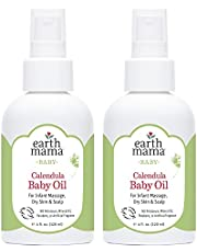 Earth Mama Calendula Baby Oil for Infant Massage