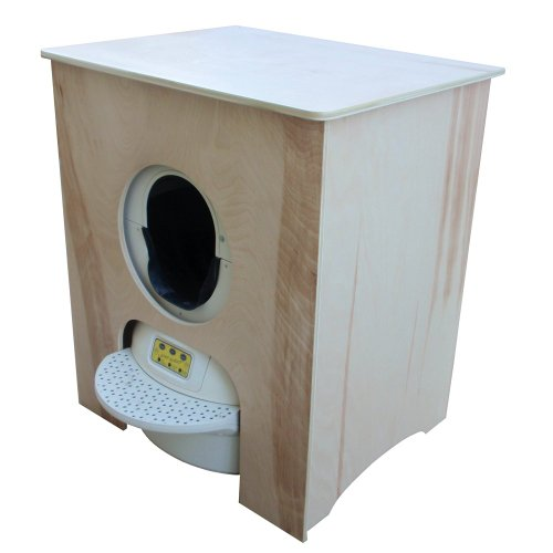 Concealer Cabinet for Litter Robot, Unfinished