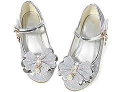 Flower Girls Dress Heel Shoe