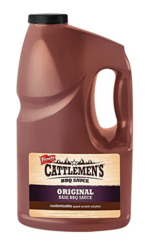 Cattlemen's St. Louis Original Base BBQ Sauce 4 1-Gallon Bot