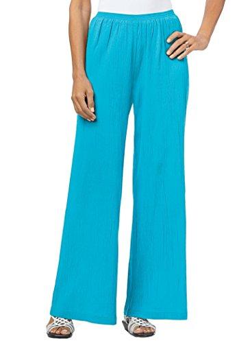 AmeriMark Cotton Gauze Pants Island Blue