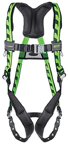 Miller Titan by Honeywell AC-TB2/3XLGN AirCore Full Body Harness, 2X-Large/3X-Large, Green - Titan Full Body Harness