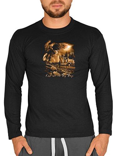 WildSide - Camiseta de manga larga - para hombre negro