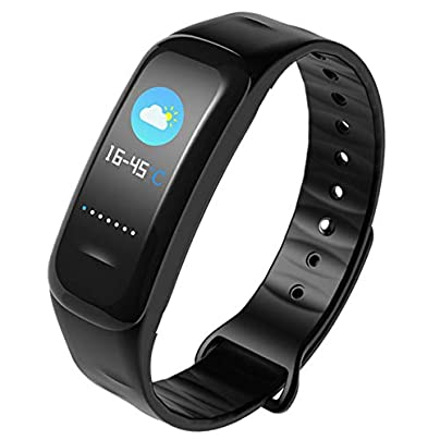 HOYHPK Men Women Fitness Bracelet Sports Pedometer Smart Watch Blood Pressure Heart Rate Monitoring Smart Wristband Estimated Price £116.25 -