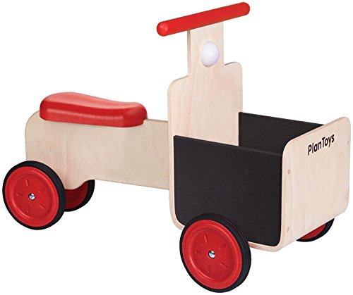 PlanToys 3479 Delivery Bike Ride On by PlanToys