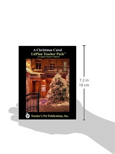 Amazon.com: A Christmas Carol LitPlan - A Novel Unit Teacher Guide ...