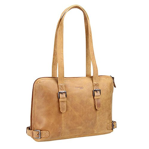 Greenland NATURE Light borsa tote pelle 38 cm natur Genuina De Descuento xlOf7