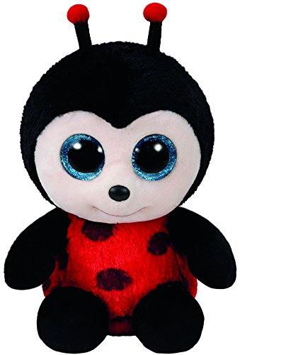 (Ty Beanie Boos Izzy - Lady Bug Reg)