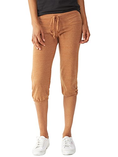 Alternative Womens Crop Pant Eco True Rust Small