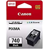 Canon 740 Ink Cartridge Compatible with Pixma MG2170 MG2270 MG3170 MG3570 MG3670 MG4170 MG4270 MX377 MX 397 MX437 MX457 MX477 MX517 MX527 MX537 TS5170 Printers