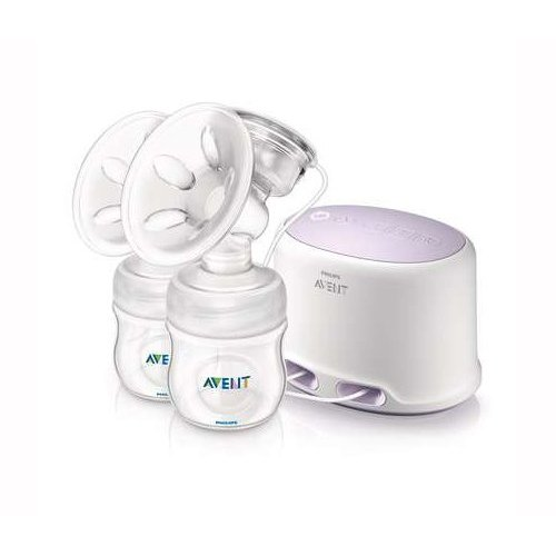 Philips AVENT SCF334/02 Comfort Twin Electric Breast Pump by BabyCenter