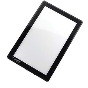 porta trace led light panel black frame 18 by 24 inch. Black Bedroom Furniture Sets. Home Design Ideas