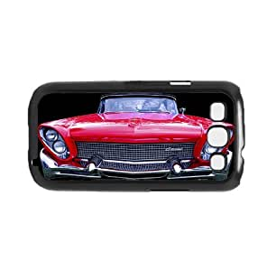 Red Old School 1970 Car Front View Hard Snap on Phone Case (Galaxy s3 III)