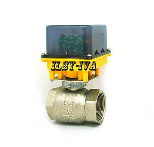 Electric actuator valve AC220V DC24V DC12V Electric Ball Valve 3 wires 2
