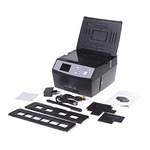 Multifunction Film Scanner USB MSDC Photo Scanner 2.4 inch LCD by Unknown