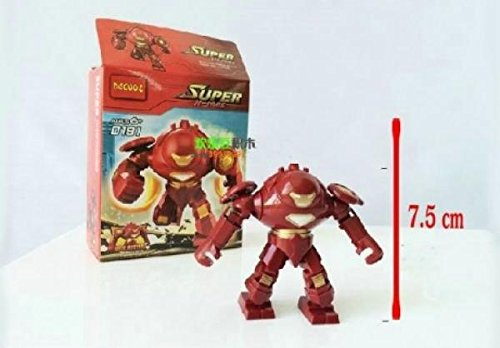 Super Heroes The Avengers iron man hulk buster Action Figures Minifigures Building Blocks toys Compatible With Lego minifigures (In Original BOX)