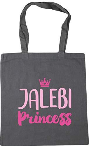 Tote Hippowarehouse litres Jalebi Gym Beach Princess Shopping x38cm 10 Grey 42cm Bag Graphite EERqa