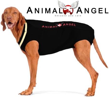 ANIMAL ANGEL OP BODY FÜR HUNDE, STERILISATION, VERLETZUNGEN Größe 2xXXL (SCHWARZ - EBONY)