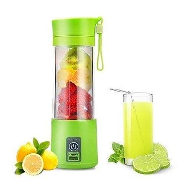 Qualimate Portable Electric USB Juice Maker Juicer Blender Bottle, Multicolour 9