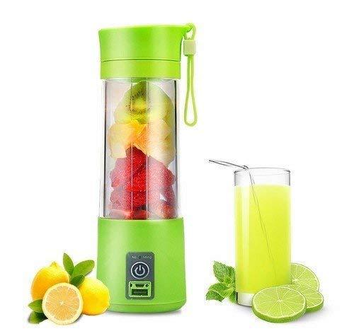 Qualimate Portable Electric USB Juice Maker Juicer Blender Bottle, Multicolour 4