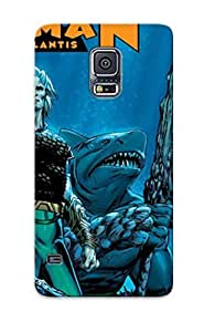 AUq4273qQiza Anti-scratch Case Cover Inthebeauty Protective Aquaman 1 Art For Pc Mobile Ipad Htc Iphone Case For Galaxy S5