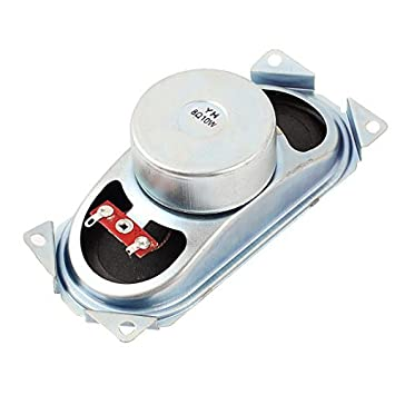 10W 8 Ohm retangular Ímã Altifalante Altifalante Amplificador 12,5 x 5,8 centímetros