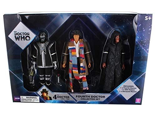 Doctor Who Fourth Doctor Collector Figures Set by Dr Who