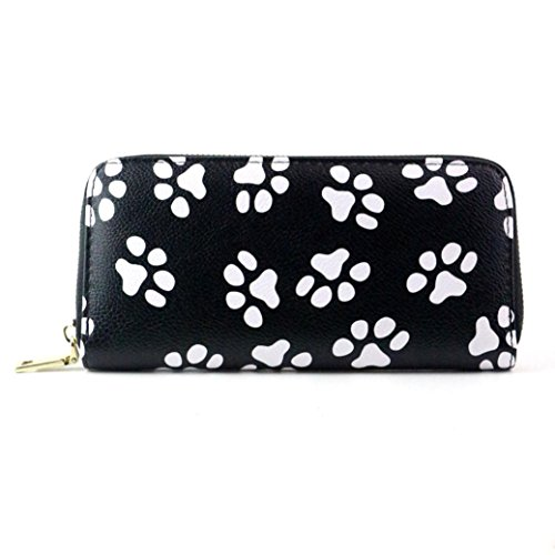 Rumas Women Clutch Paw Long Purse Wallet Card Holder Handbag Bag -