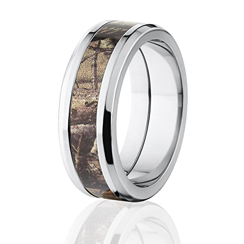 d9a3732314bcd RealTree AP Camouflage Titanium Rings, Camo Bands