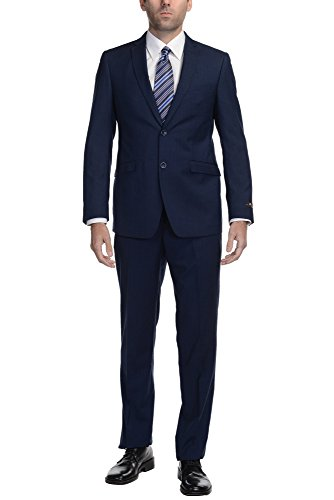 Single Breasted Side Vent (P&L 7-colors Slim Fit Suit, 2 Button, Single Breasted, Dual Side Vent Jacket.)