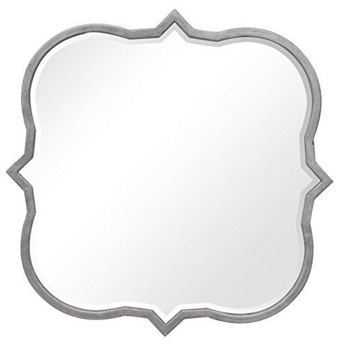 Sagebrook Home WM10388-02 Wall Mirror, Silver Metal, 15 x 1 x 14 Inches