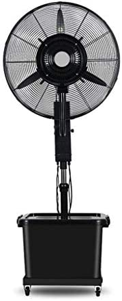 強力ファン フロアファンスイングスプレー追加水ミュートファクトリー黒調整3速度調整連続作業10時間(サイズ:0.8m) スプレーファン