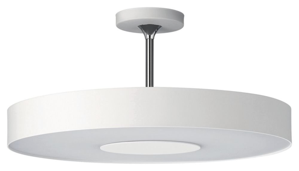 Philips forecast 30206 31 48 roomstylers semi flushmount ceiling light white semi flush mount ceiling light fixtures amazon com