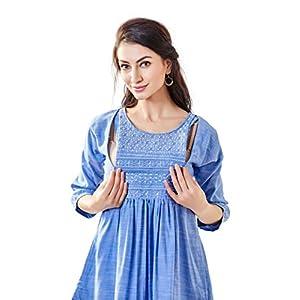 EasyFeed Designer Cotton Feeding Tops With Zip Online India