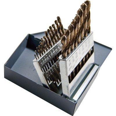 - Klutch Cobalt High Speed Steel Drill Bit Set - 21-Pc. (17 32 Brad Point Drill Bit compare prices)