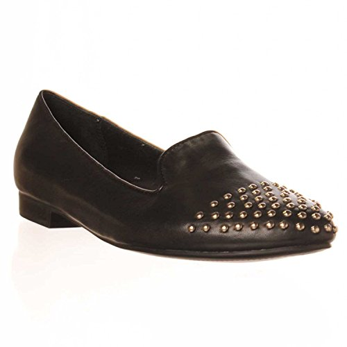 Marc Fisher Womens Surri Almond Toe Loafers Black ZttfYOUoy