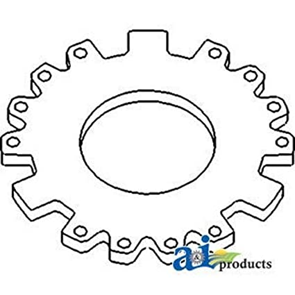 Amazon Com 120769c2 New Case Ih Tractor Master Clutch Backing Plate