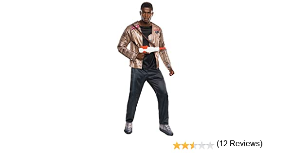 Disfraz adulto Deluxe Finn Star Wars VII? - M / L: Amazon.es ...