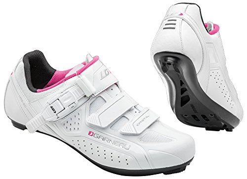 Louis Garneau - Women's Cristal Bike Shoes, White, 41 by Louis Garneau