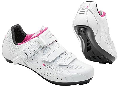 Louis Garneau - Women's Cristal Bike Shoes, White, 39 by Louis Garneau