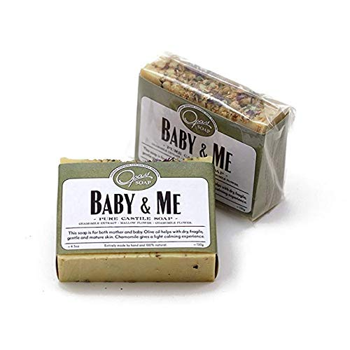- Opas Soap - 100% Natural Baby & Me Fragrance Free Castile Olive Organic Oil Soap with Chamomile