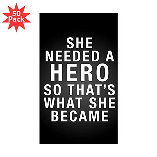 CafePress - Needed A Hero - Sticker (Rectangle 50 pk) by CafePress