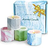 LA BELLEFÉE Scented Candles, Aromatherapy Candles, Holiday Day Scented Candles Gift Set, Natural Soy Wax Travel Tin, for Rela
