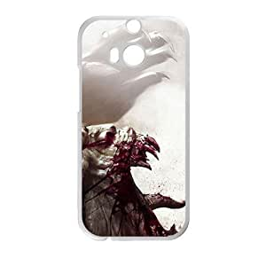 Scary Blood Monster personalized creative custom protective phone case for HTC M8